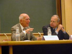 Stéphane Hessel et Emmanuel Decaux